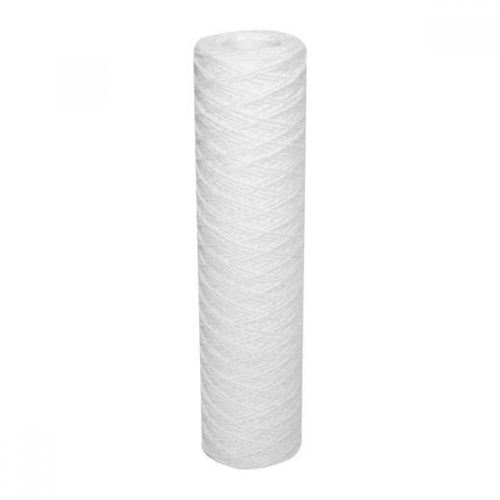 """Cartouche de filtration jetable 9""""3/4 standard bobinée 100 µ"""