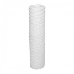 """Cartouche de filtration jetable 9""""3/4 standard bobinée 20 µ"""