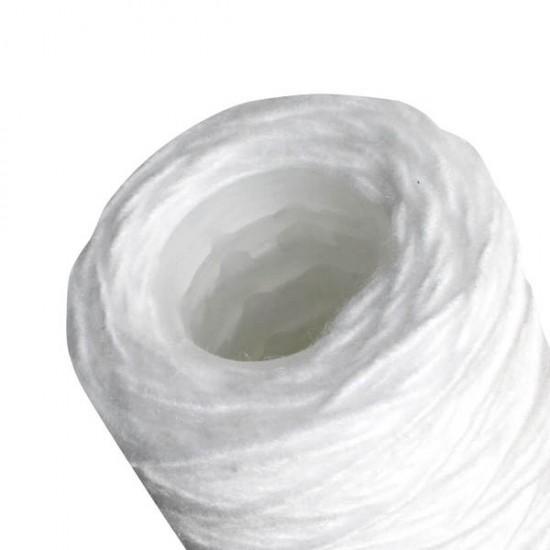"Cartouche de filtration anti-boue jetable 9""3/4 bobinée 10 µ"