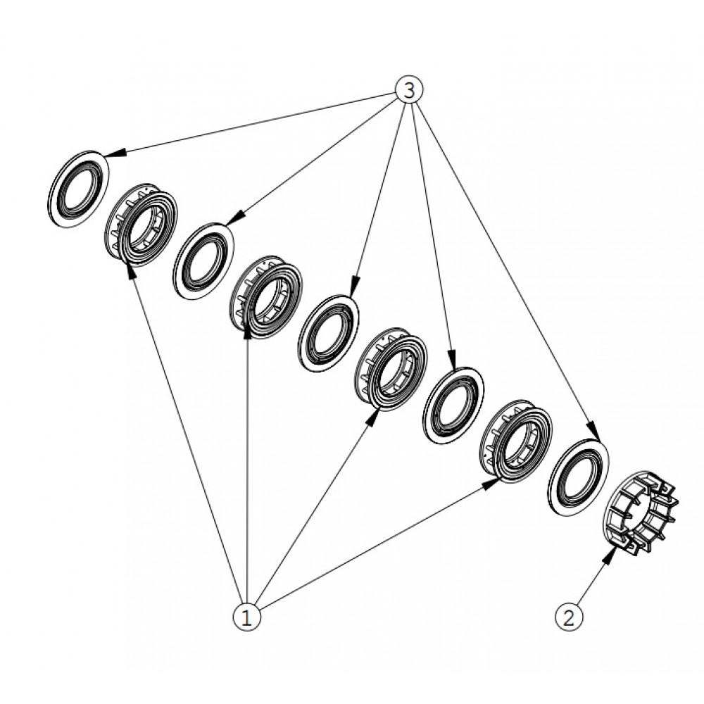 Cage Fleck Vanne 5000 SXT 26045