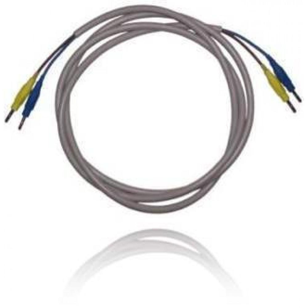 Câble pour 1 électrode sel avec 2 fiches