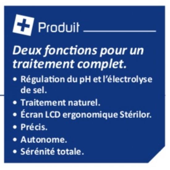 Électrolyseur de sel - pH Stérilor Duo 100 - 2019 - Pour bassin de 80 à 100 m3