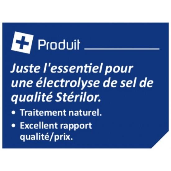 Électrolyseur de sel 40 Stérilor Système 7 - 2019 - Pour bassin de 25 à 40 m3