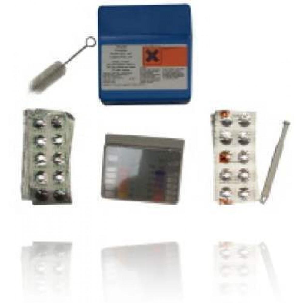 Trousse d'analyse Cuivre/pH Stérilor