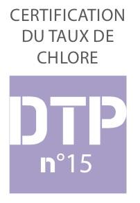 Certification du taux de chlore