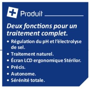 Les plus produites Stérilor Duo sel/pH