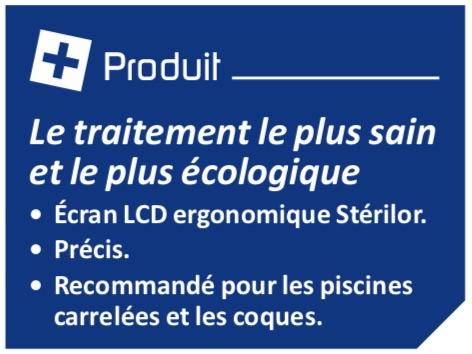 Les + produit Stérilor cuivre / Argent
