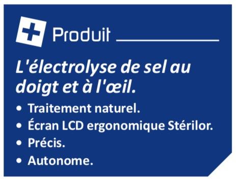 Les + produit Stérilor sel