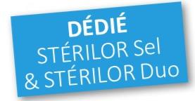 Stéredox dédié aux appareils Stérilor Sel et Duo